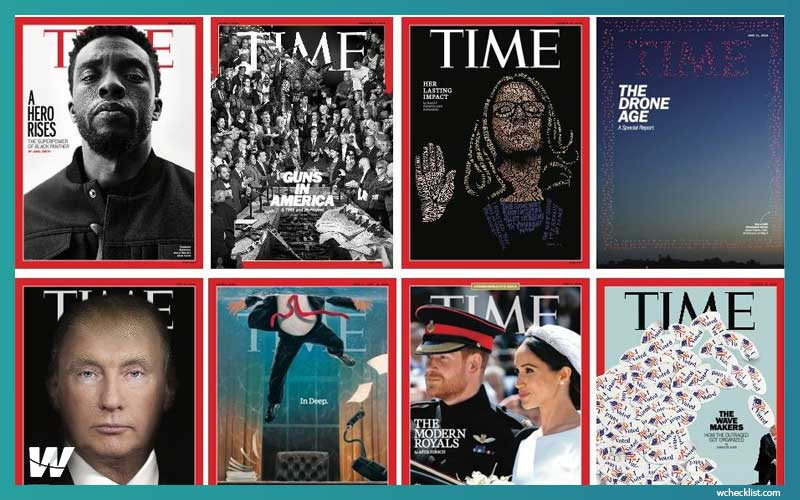 Picture websites designed with wordpress - Time Magazine.